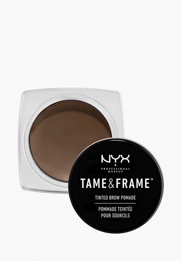 женский помада для бровей nyx professional makeup, коричневый