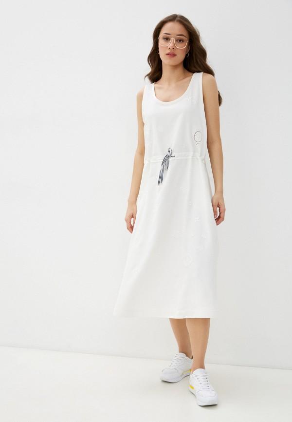 Платье Tommy Hilfiger белого цвета
