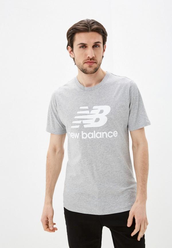Футболка New Balance New Balance MT01575 серый фото