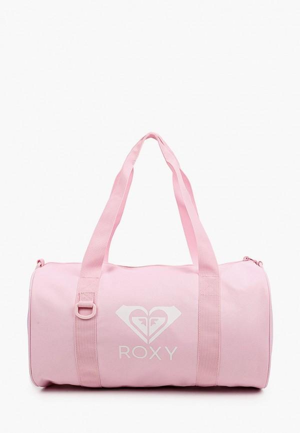 женская спортивные сумка roxy, розовая