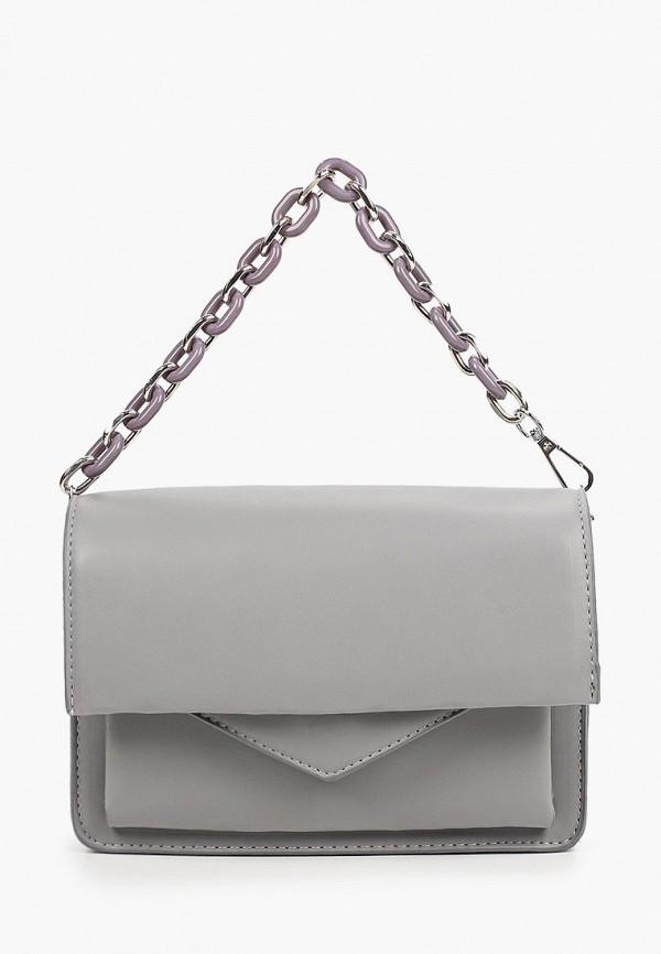 женская сумка с ручками aaquamarina, серая