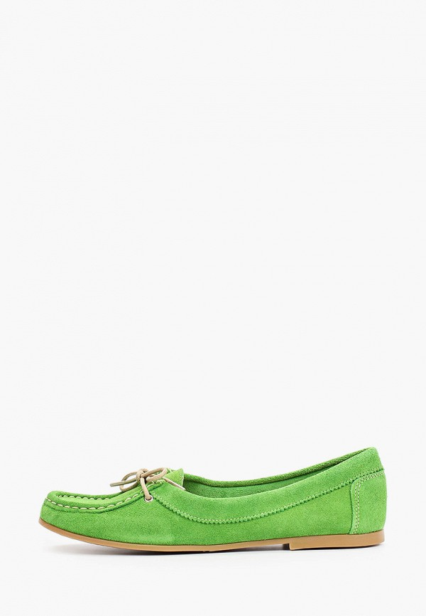 женские мокасины dali, зеленые