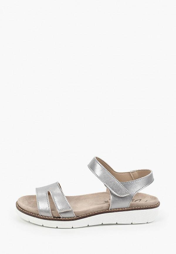 женские сандалии dali, серебряные