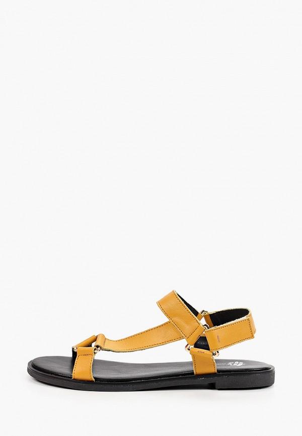 женские сандалии tf's, желтые