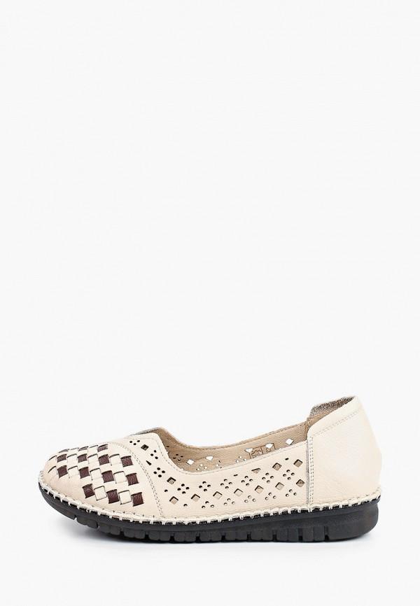 женские туфли tf's, бежевые