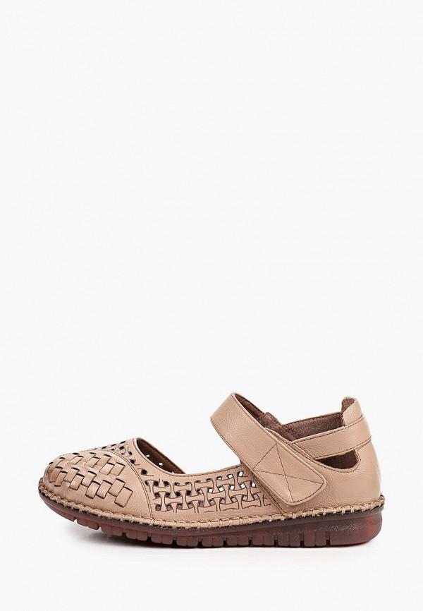 женские туфли tf's, коричневые