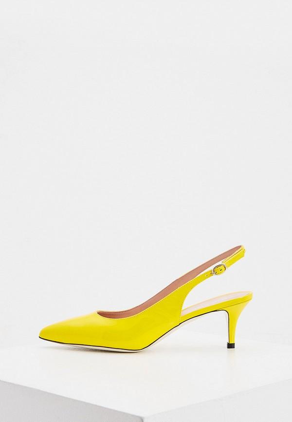 женские туфли pollini, желтые