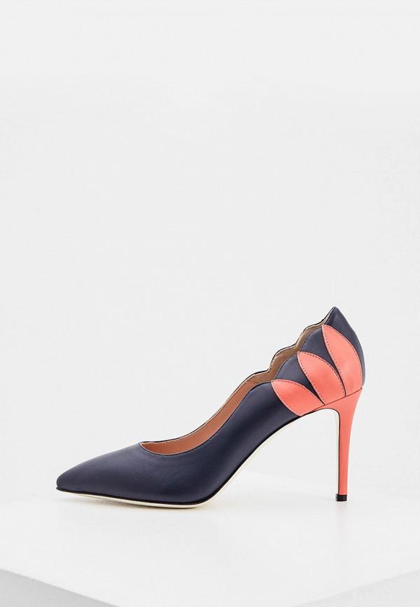 женские туфли pollini, синие