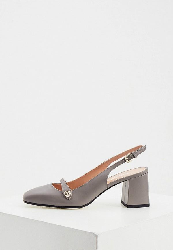 Туфли Pollini серого цвета