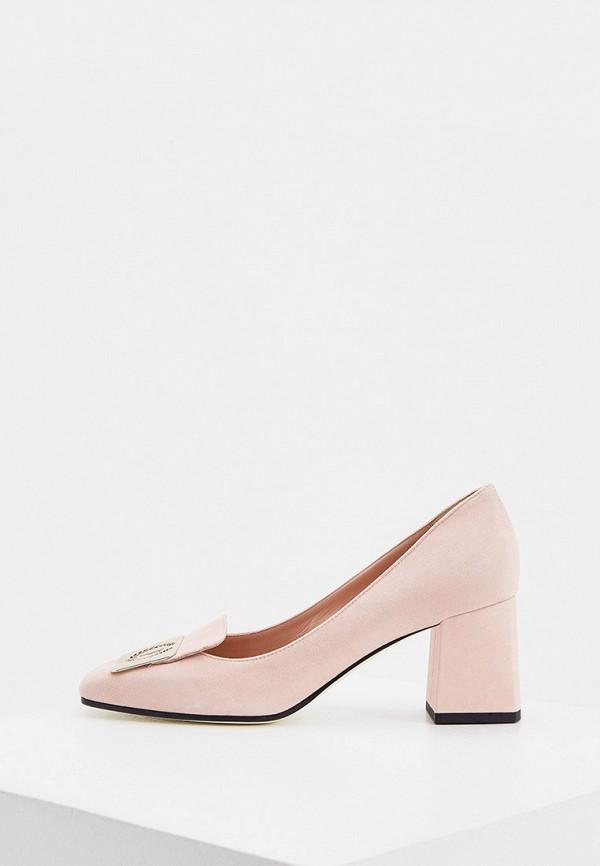женские туфли pollini, розовые