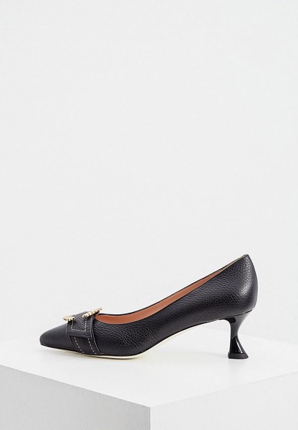 женские туфли pollini, черные