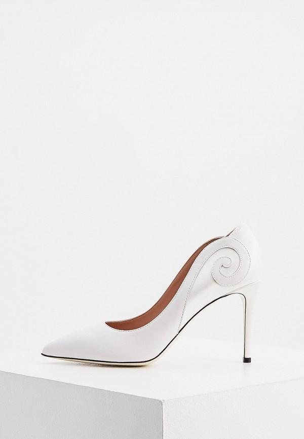 женские туфли pollini, белые