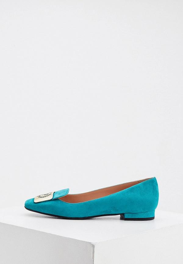 женские туфли pollini, бирюзовые