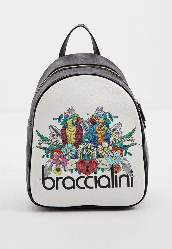 женский рюкзак braccialini, белый