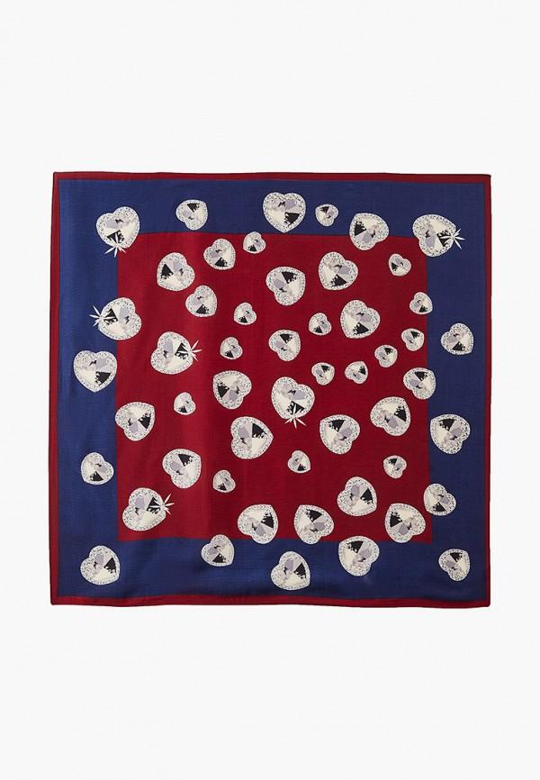 женский платок nataco, бордовый