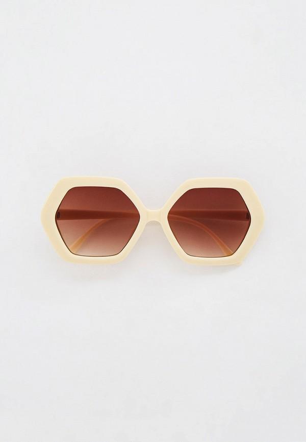 женские солнцезащитные очки nataco, бежевые