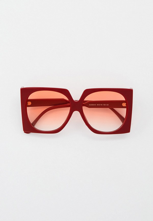 женские квадратные солнцезащитные очки nataco, бордовые
