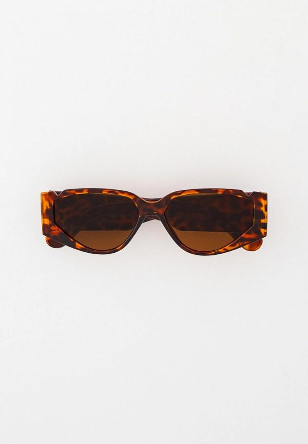 женские солнцезащитные очки nataco, коричневые