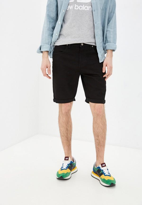 мужские джинсовые шорты lee, черные
