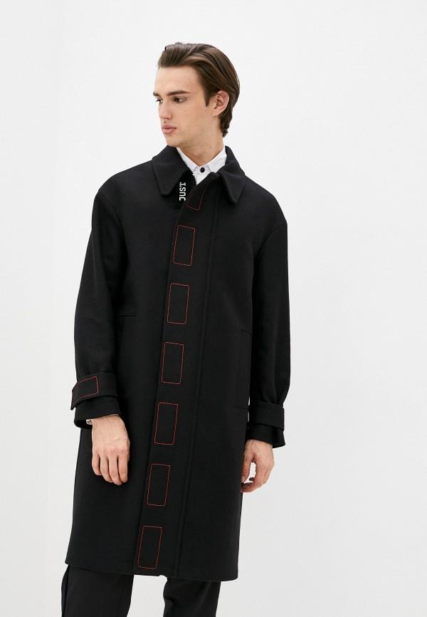 мужское пальто just cavalli, черное