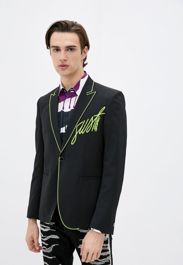 мужской пиджак just cavalli, черный