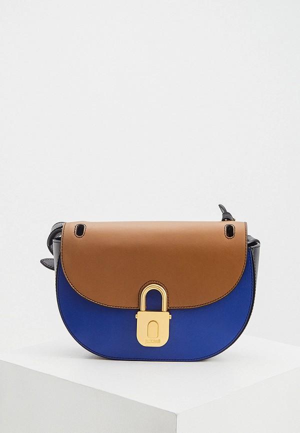 женская сумка через плечо just cavalli, разноцветная