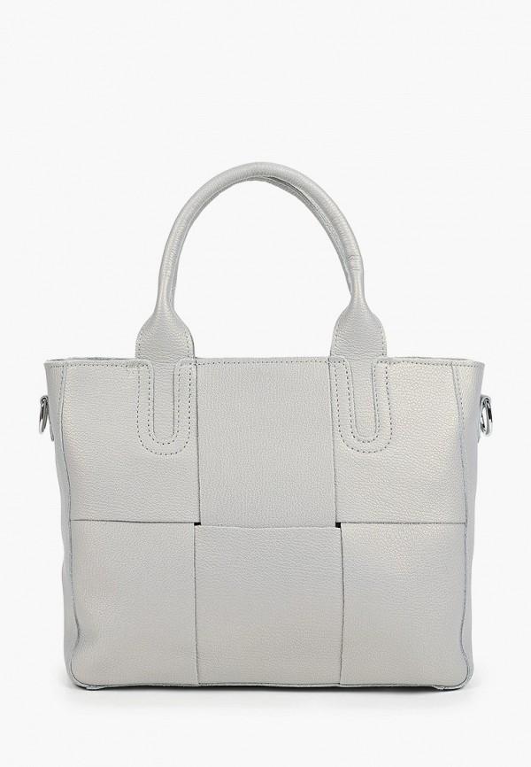 женская сумка с ручками moda sincera, голубая