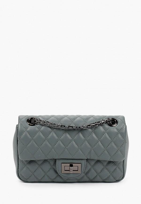 женская сумка через плечо moda sincera, бирюзовая