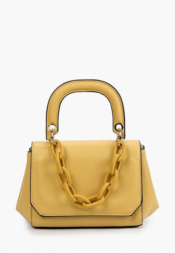 женская сумка с ручками moda sincera, желтая