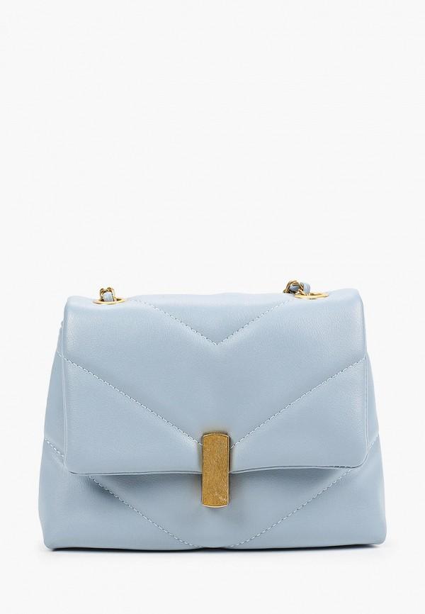 женская сумка через плечо moda sincera, голубая