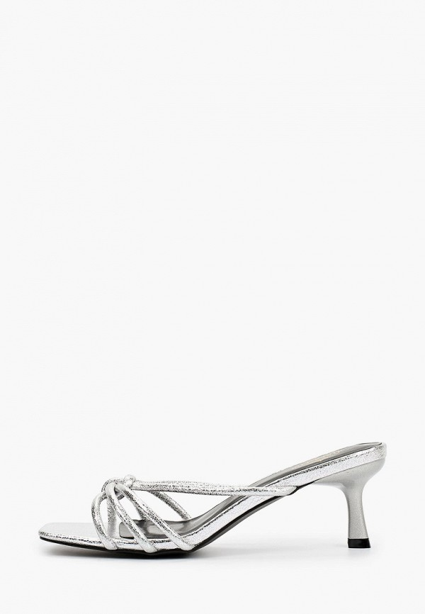 женское сабо diora.rim, серебряное