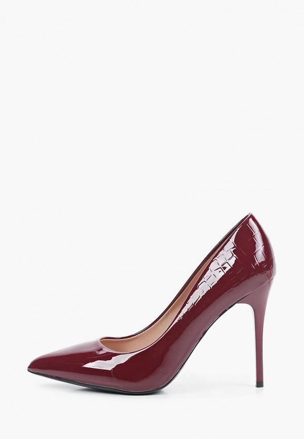 женские туфли-лодочки diora.rim, бордовые