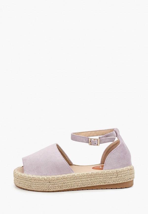 женские сандалии go-go, фиолетовые