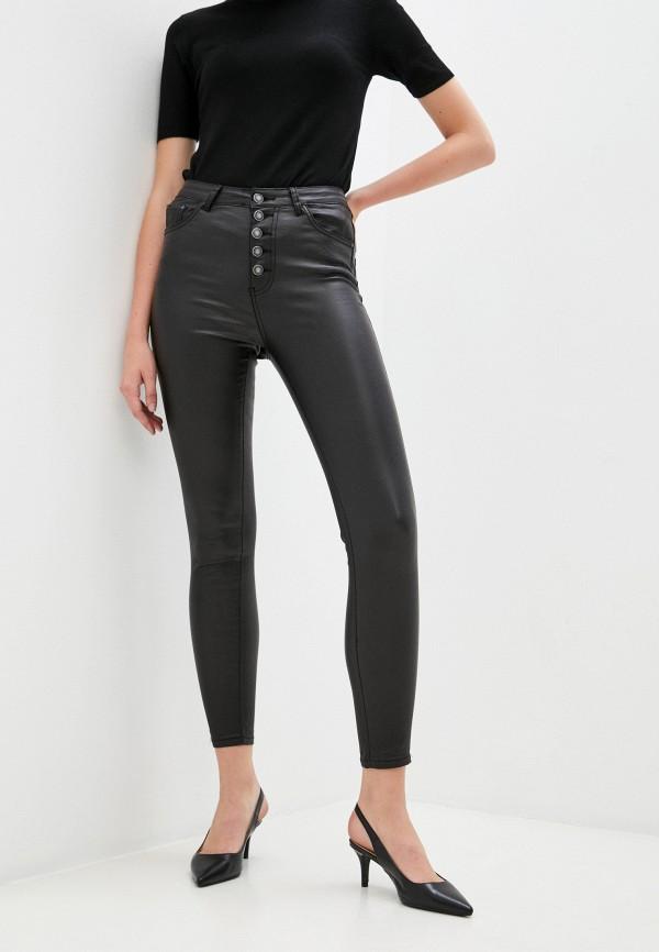женские брюки miss bon bon, черные
