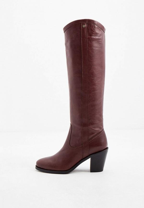 женские сапоги claudie pierlot, коричневые