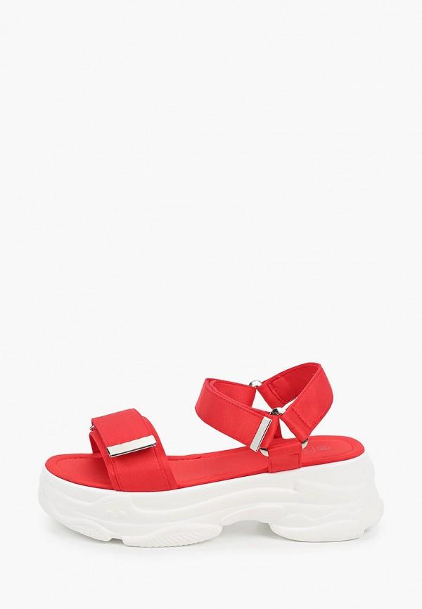 женские сандалии patrol, красные