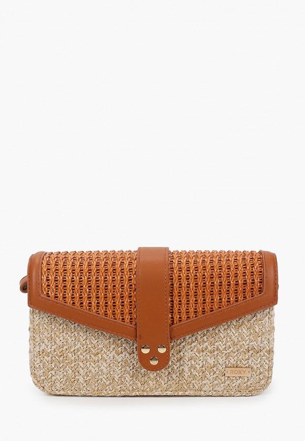 женская сумка roxy, бежевая