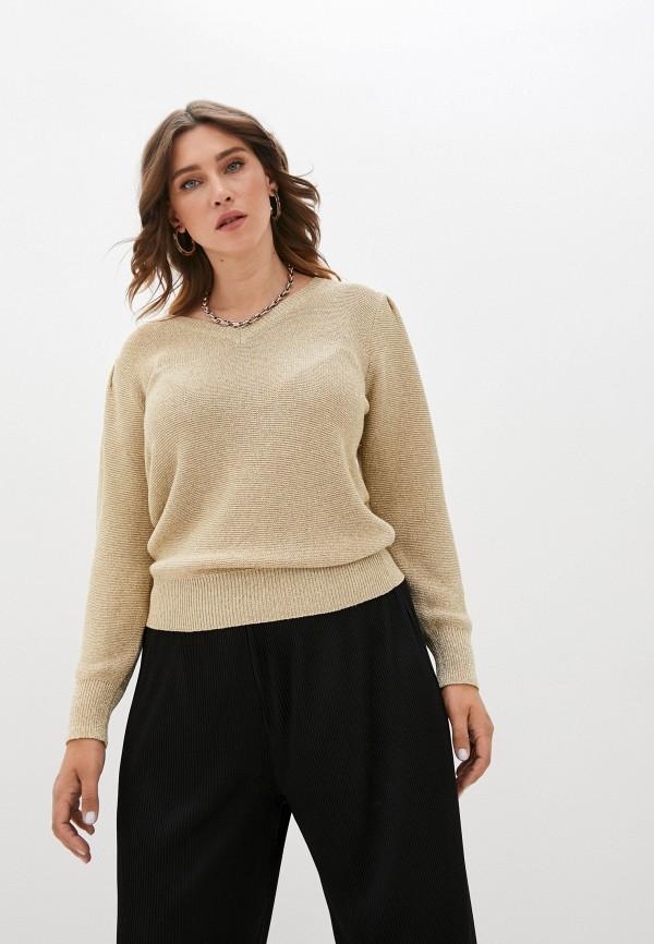 женский пуловер pablo, золотой
