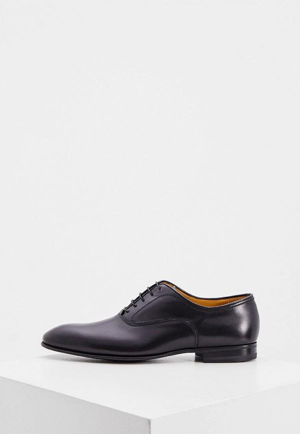мужские туфли-оксфорды fabi, черные