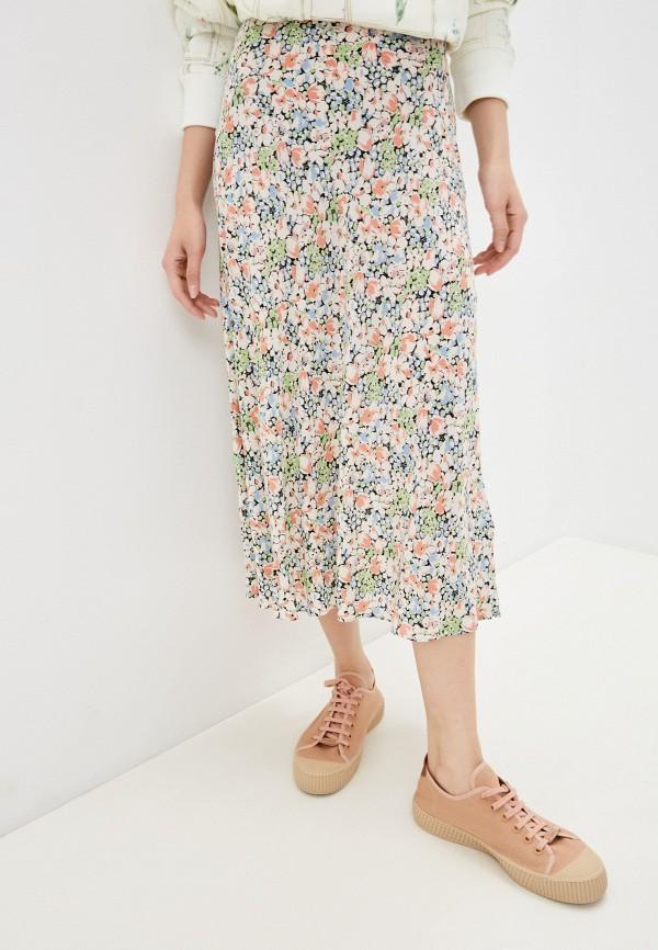 женская прямые юбка polo ralph lauren, серебряная