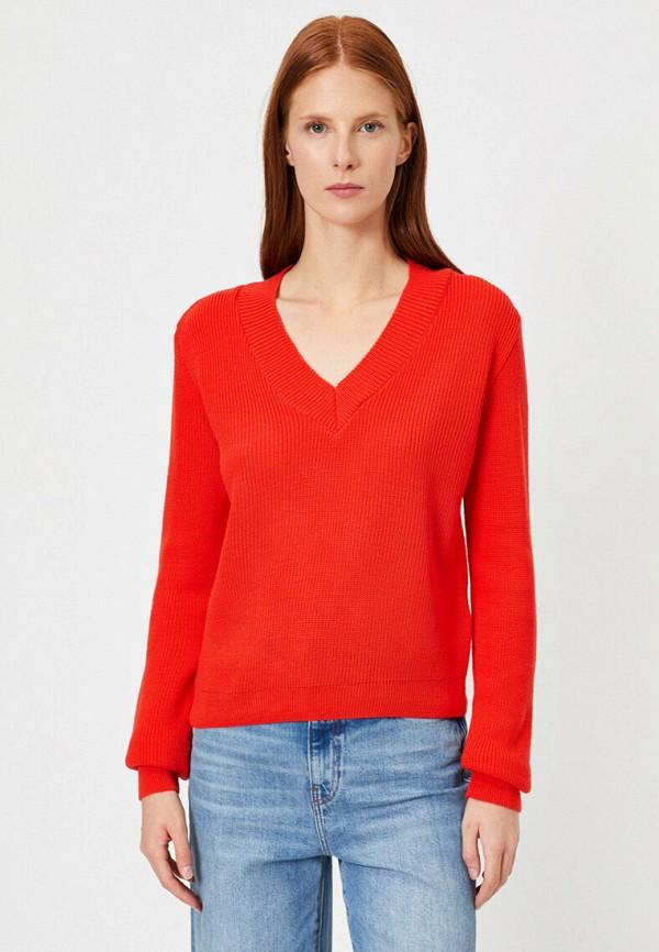 женский пуловер koton, красный