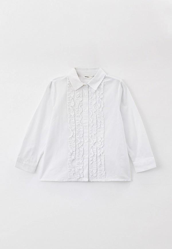 рубашка koton для девочки, белая