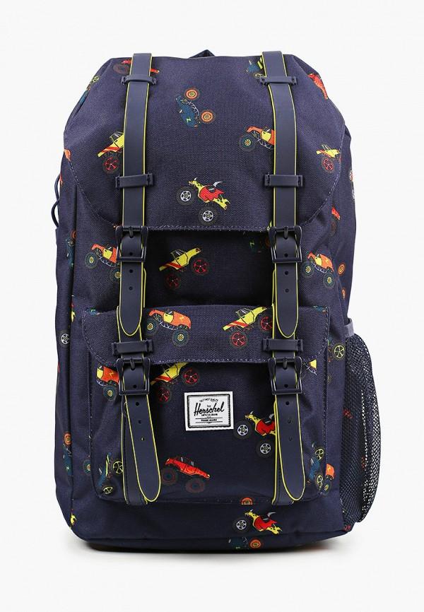 рюкзак herschel supply co для мальчика, синий