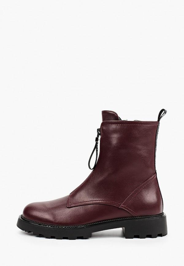 женские ботинки diora.rim, бордовые