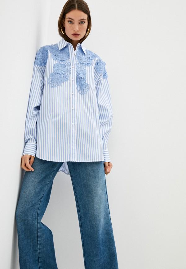 Рубашка Ermanno Ermanno Scervino, Голубой