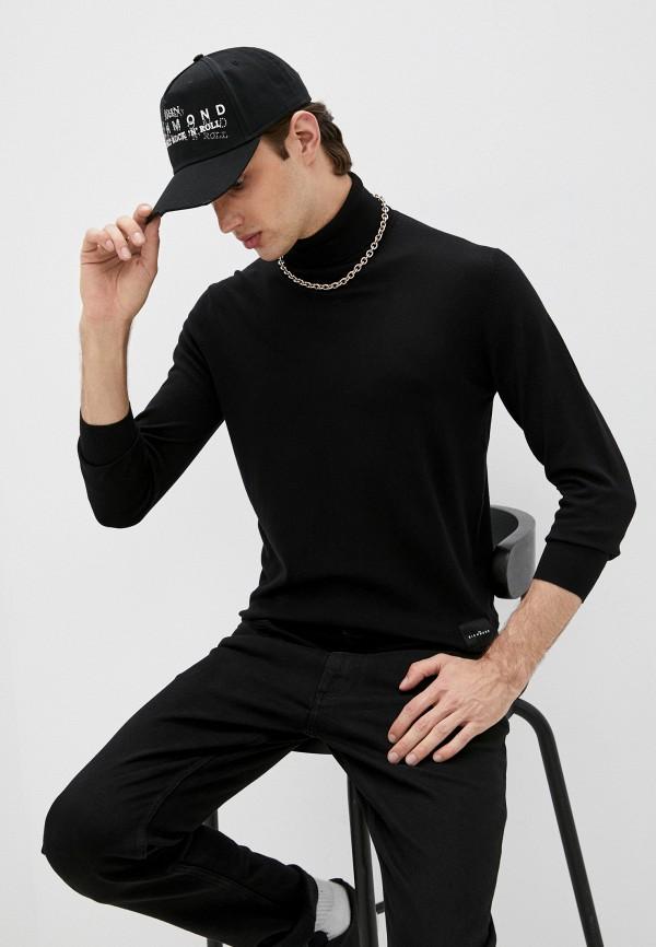 мужская водолазка john richmond, черная
