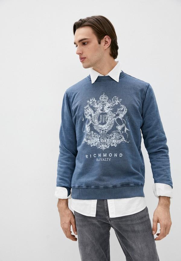 мужской свитшот john richmond, синий
