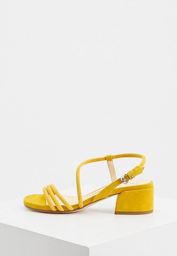 женские босоножки fabi, желтые