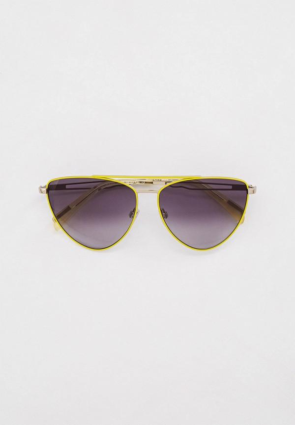 женские авиаторы солнцезащитные очки just cavalli, желтые