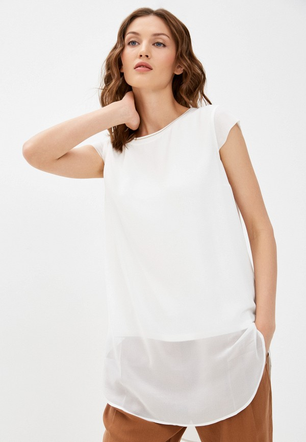 женская туника betty & co, белая